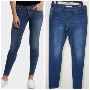 Levi's 710 Super Skinny Medium Wash Jeans